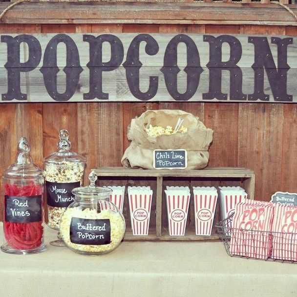 Pop corn bar - 1