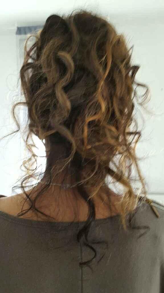Cherche des extensions à clips noirs cheveux naturels - 1