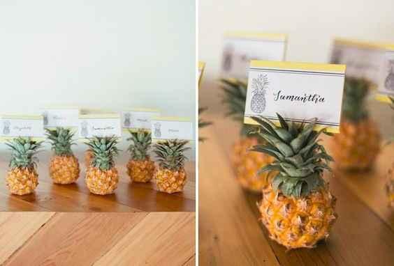 Mini fruits - marque place