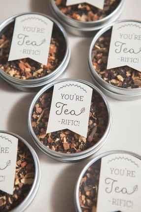 Thé pour vos invités
