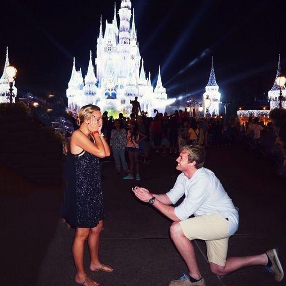 Demande en mariage à Disney