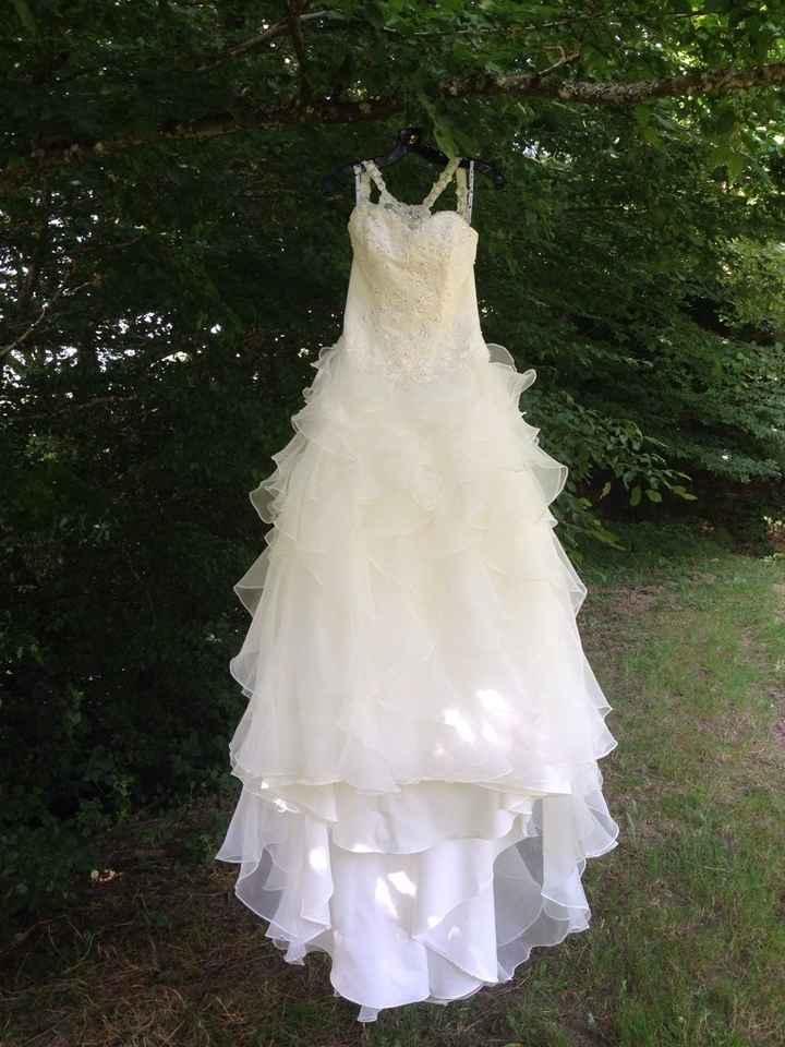 Ma robe dans la forêt et devant un étang - 1
