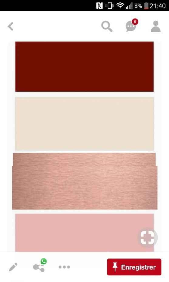 Palette couleurs DH et deco interieur