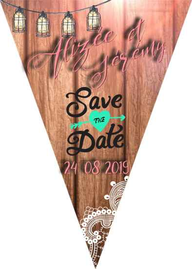 Mes Save the date ...by me !
