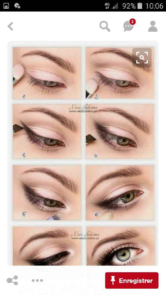 Essai maquillage - 1