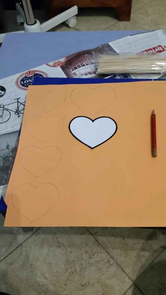 Diy pics de cœurs - 1