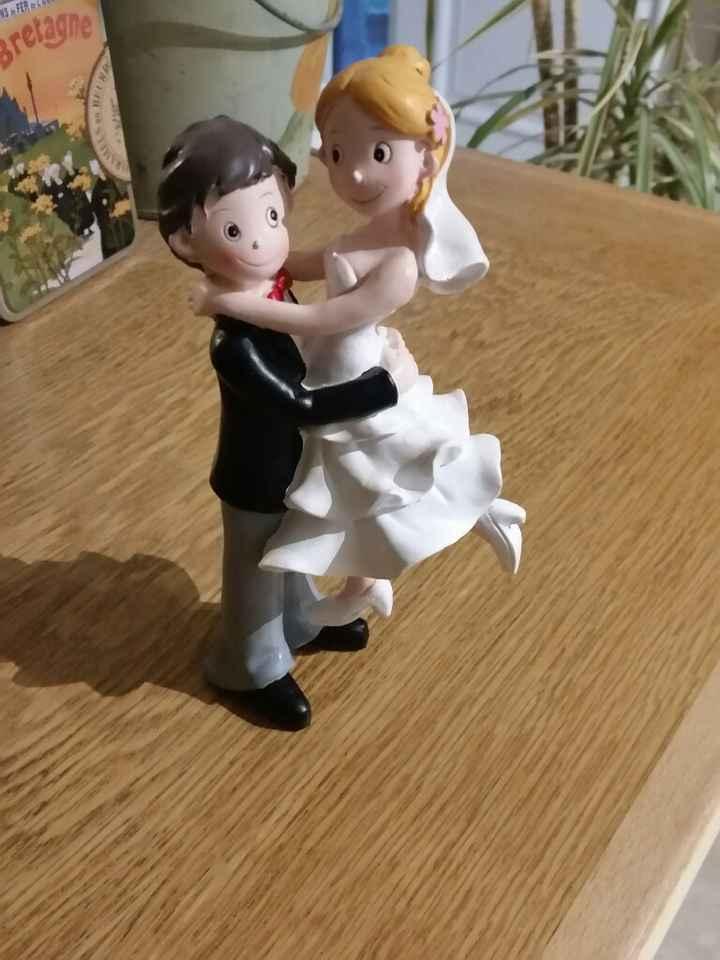 Mon chéri a été chercher nos figurines - 1