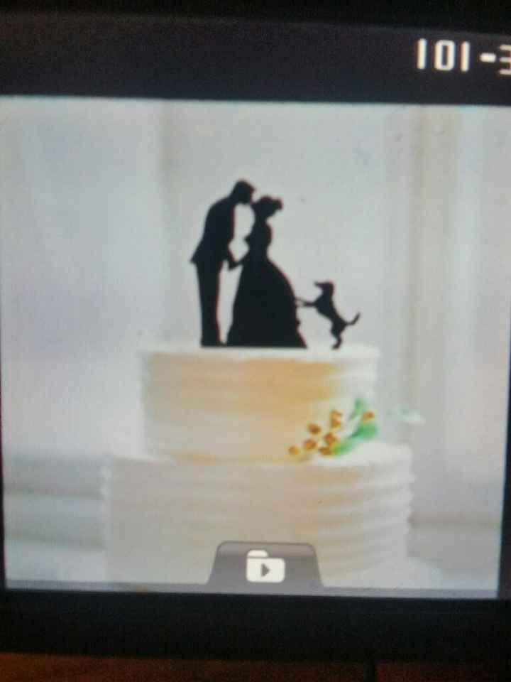 Figurine wedding cake - 1