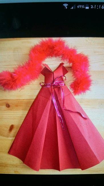 mes serviettes en papier - décoration - forum mariages