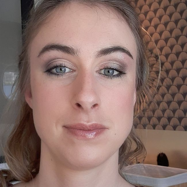 Maquillage yeux bleux 1