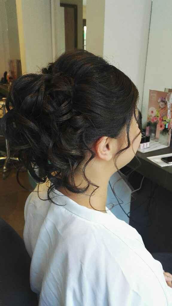 Essaie maquillage et coiffure - 2