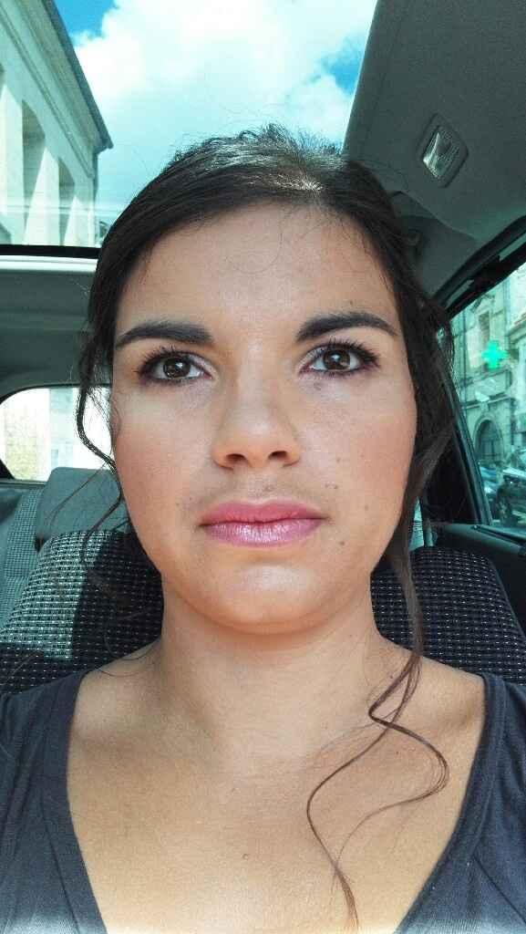Essaie maquillage et coiffure - 3