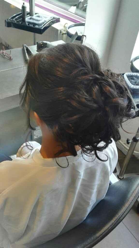 Troisième essais coiffure - 1