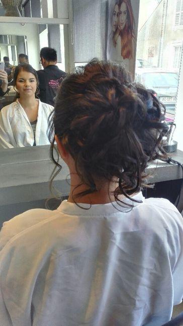 Essaie maquillage et coiffure - 1