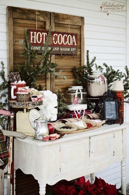 bar a chocolat chaud
