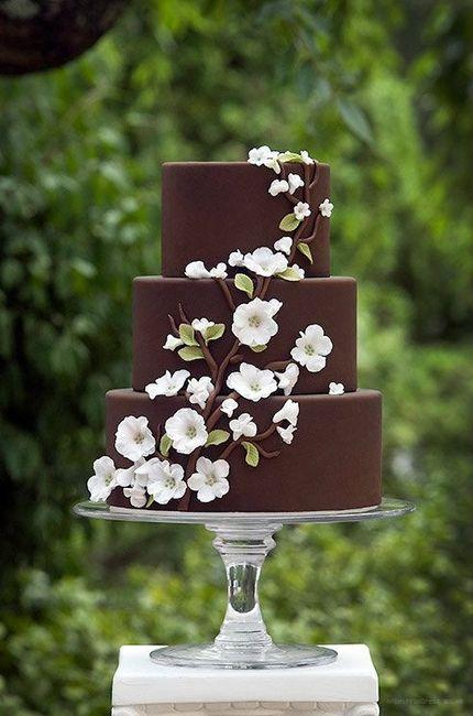 gateau de mariage chocolat
