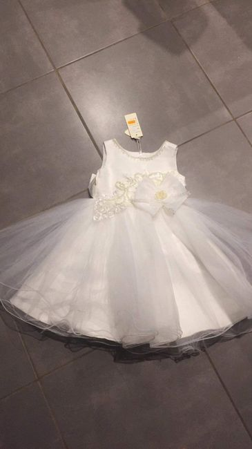 Robe de notre princesse - 1