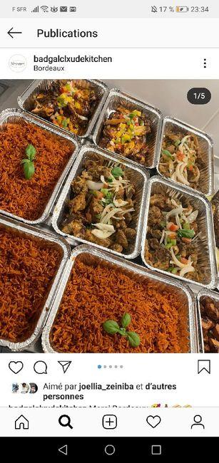 Inspiration buffet africain (chauffe plat)/sans traiteur . 8
