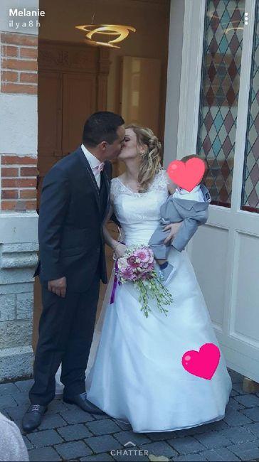 Voilà nous somme mari et femme - 1