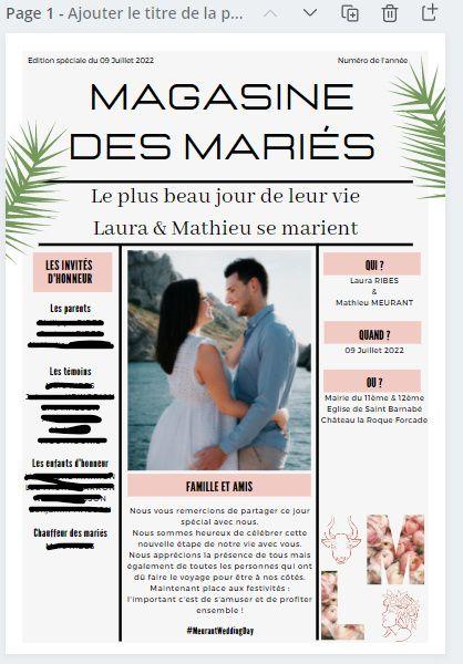Gazette des marié.es : Oui ou non ? 🧾 2