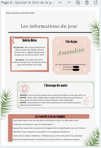 Gazette des marié.es : Oui ou non ? 🧾 5