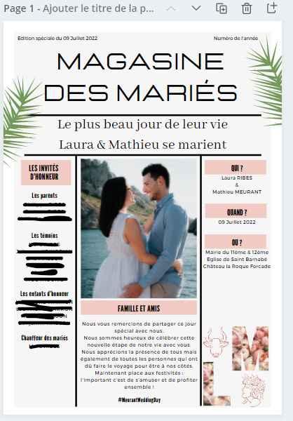 Gazette des marié.es : Oui ou non ? 🧾 - 1