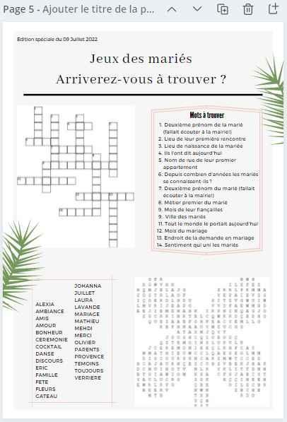 Gazette des marié.es : Oui ou non ? 🧾 - 3