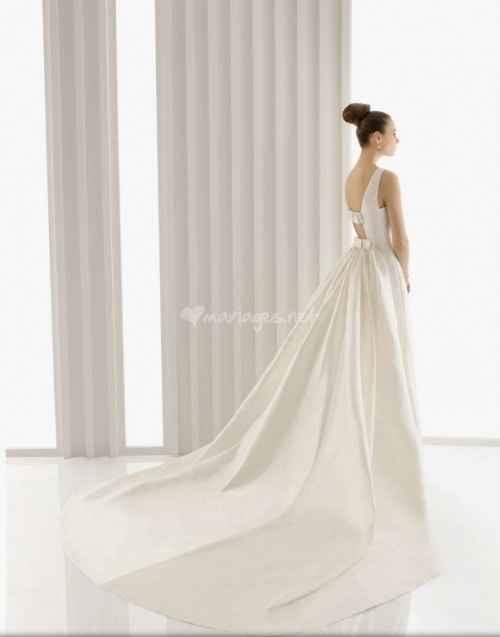 Discussion robes de mariée