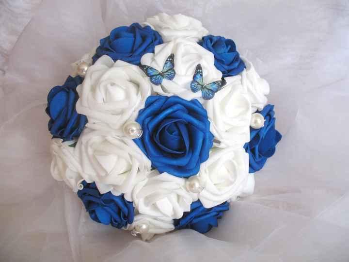 Idée décoration bleu et or - 8