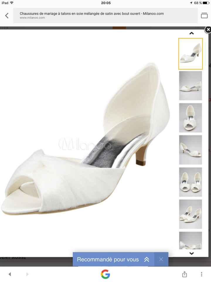 Changement d'avis côté chaussure 😂 - 1