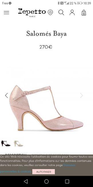 Chaussures de mariée 3