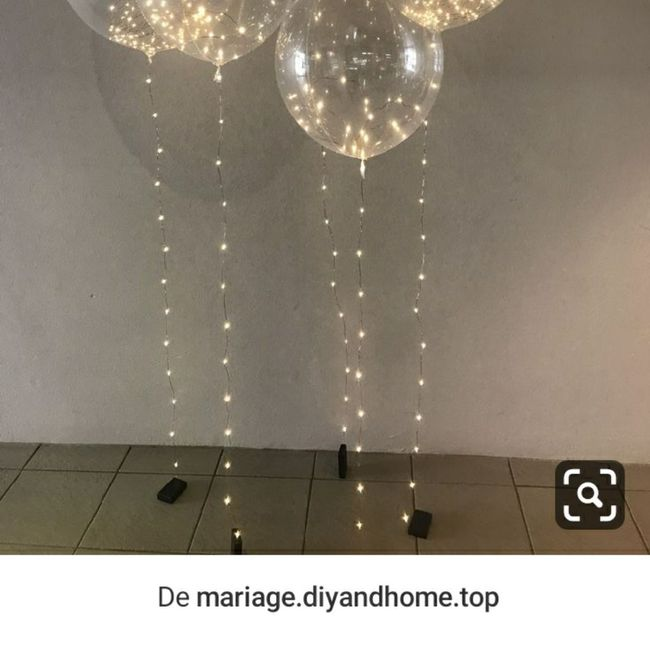 Ca fait (pas) mariage - les ballons. 4