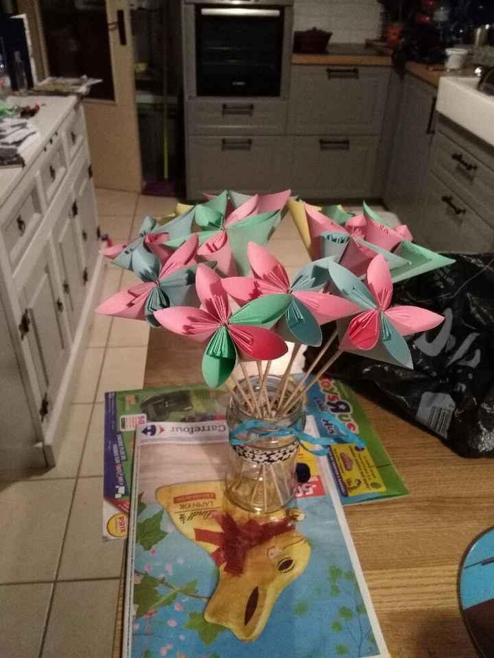 Mes petites fleurs origami - 1