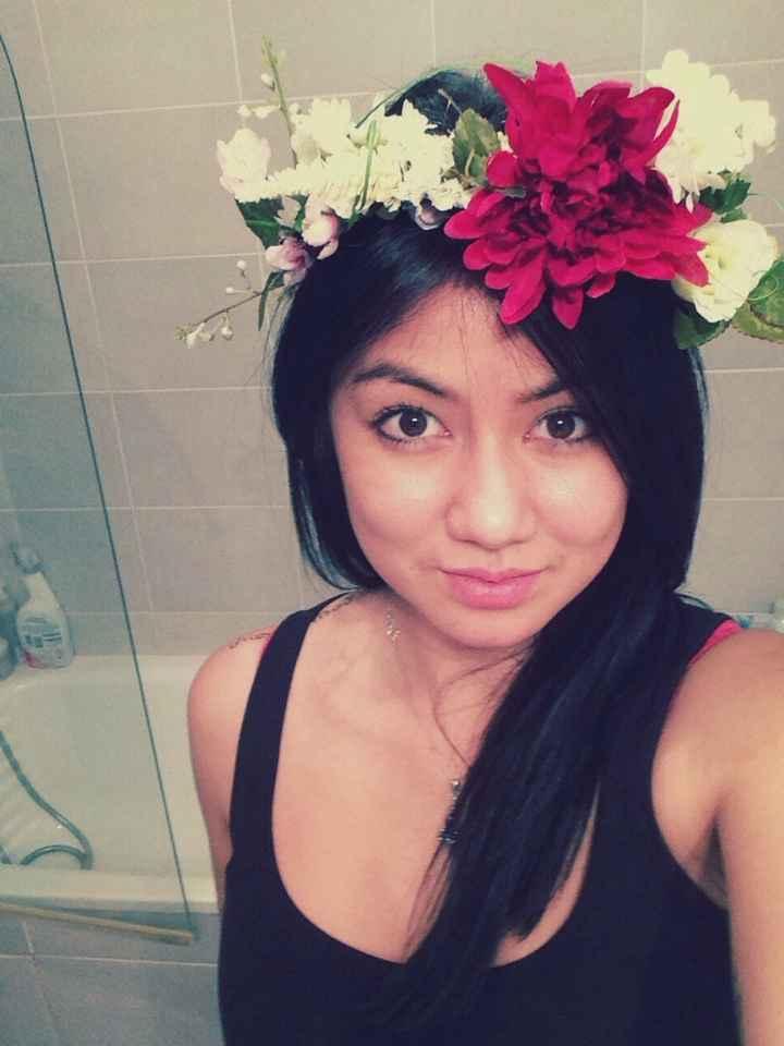 Ma couronne de fleurs diy - 1