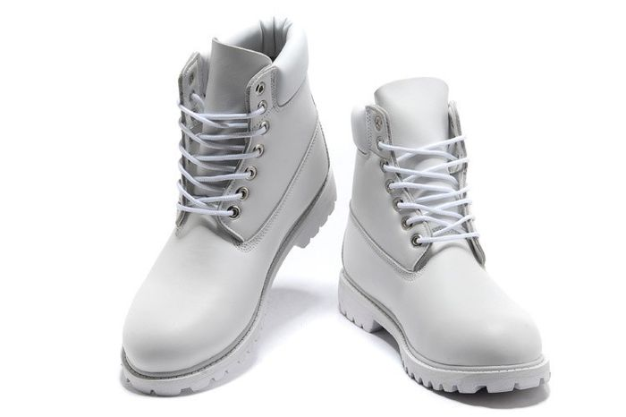timberland blanches homme
