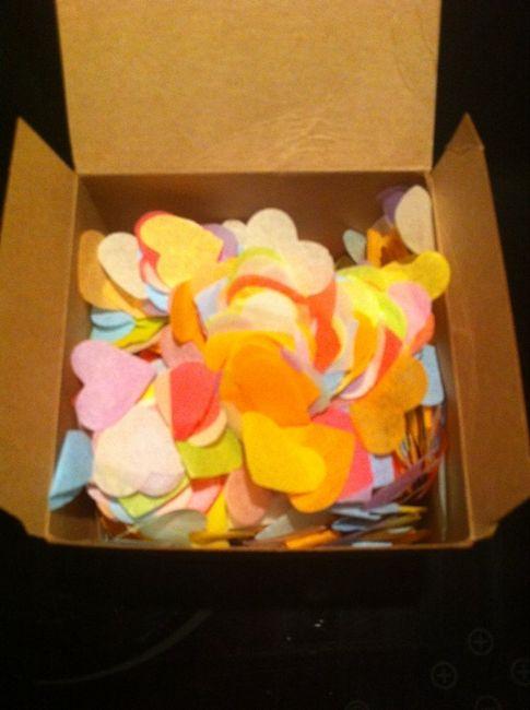 confettis biod gradables recus organisation du mariage forum. Black Bedroom Furniture Sets. Home Design Ideas