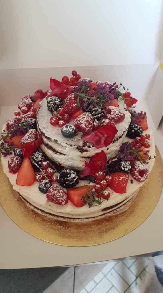 Mon gâteau test  du mariage, j'en suis vraiment fan - 1