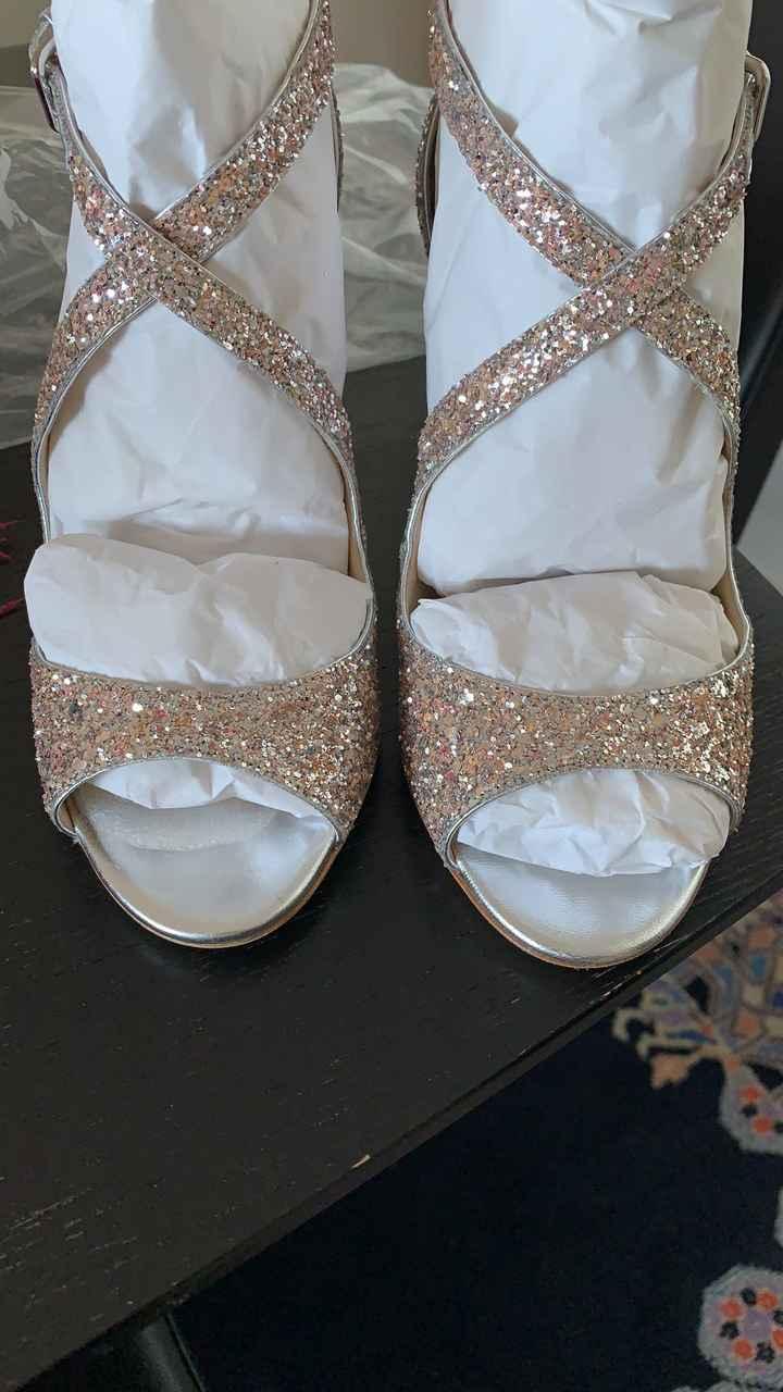 J'ai reçu mes chaussures !! Et vous a quoi elles ressemblent? - 1