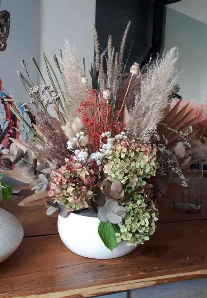 Composition florale 100% handmade - 1