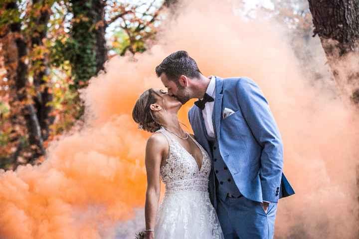 Fumigènes mariage 💒 - 1