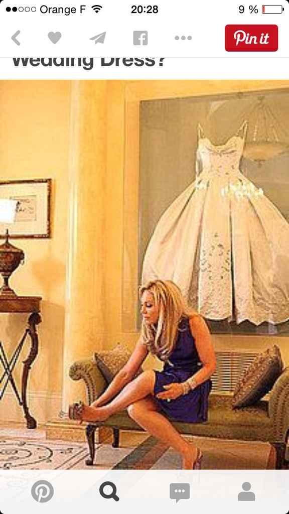 Que ferez vous de votre robe ? - 1