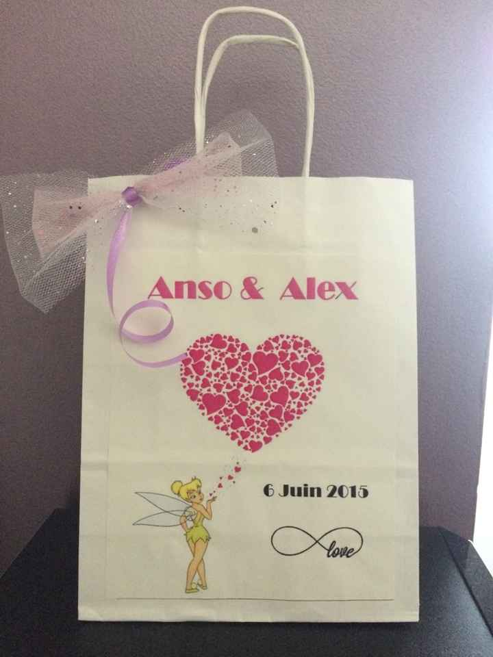 Mes welcome bags - 1