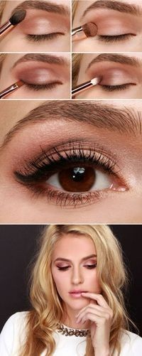 Make Up - Blonde, yeux bruns, pâle 4