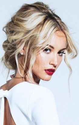 Make Up - Blonde, yeux bruns, pâle 3