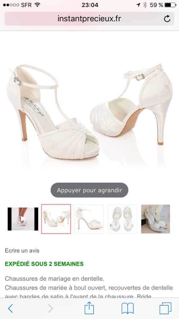 Chaussures commandées - 1