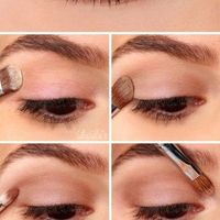 Make Up - Blonde, yeux bruns, pâle 1