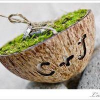 Porte alliance noix de coco