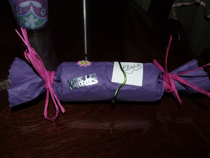 rouleaux bonbons pour enfants ( violet fille )