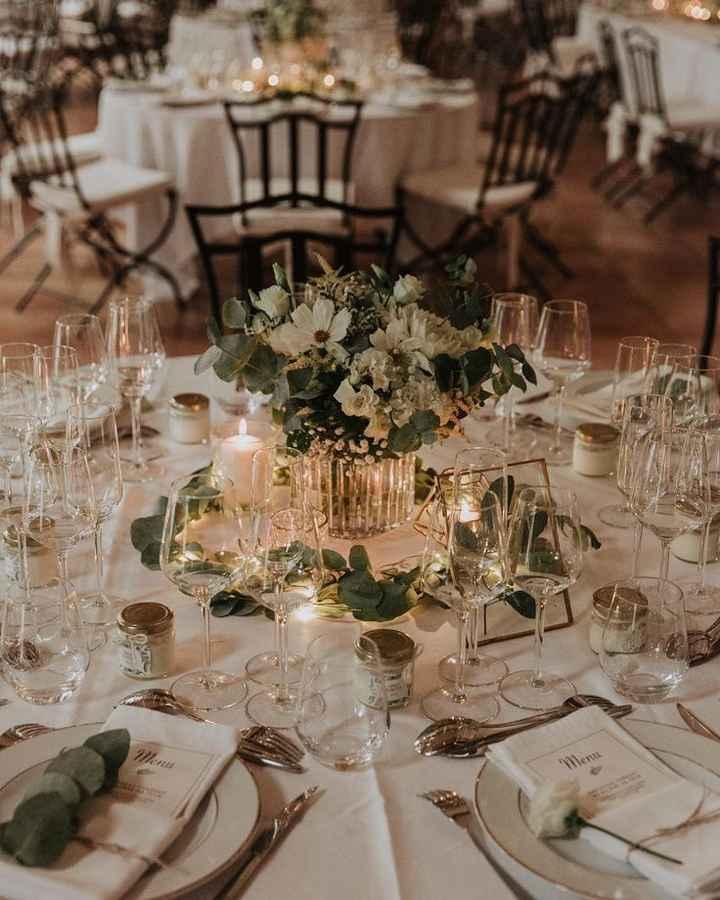 Inspiration décoration tables de réception - 1