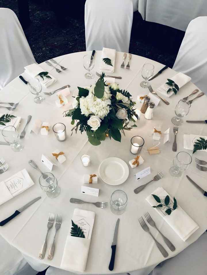 Inspiration décoration tables de réception - 2